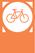 Állomás kevés kerékpárral